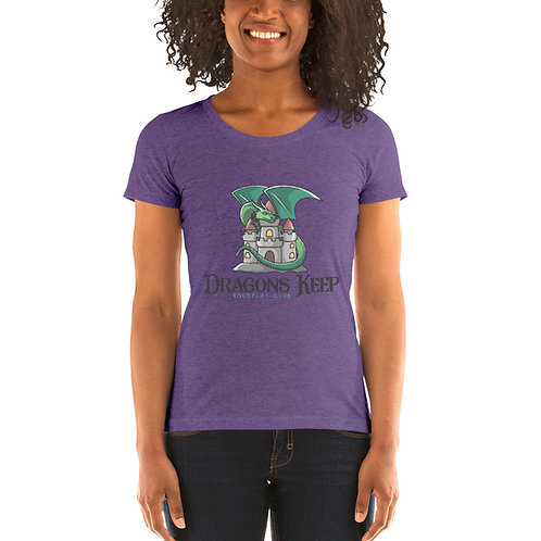 Ladies' Tri-Blend T-shirt (Cute Logo) - Super Soft & Lightweight