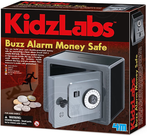 Buzz Alarm Money Safe