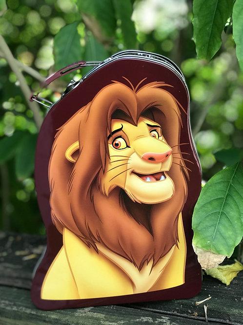 Lion King Simba Shaped Tin Box