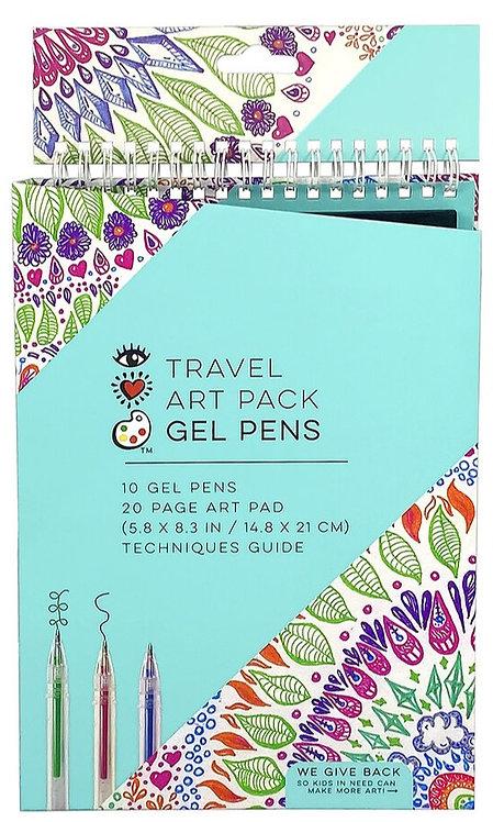 Travel Art Pack Gel Pens | Bright Stripes