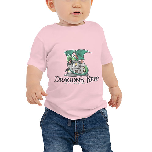 Baby Jersey Short Sleeve Tee (Cute Logo) - Soft & Loose Fit