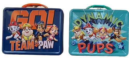 Paw Patrol Tin Lunch Box