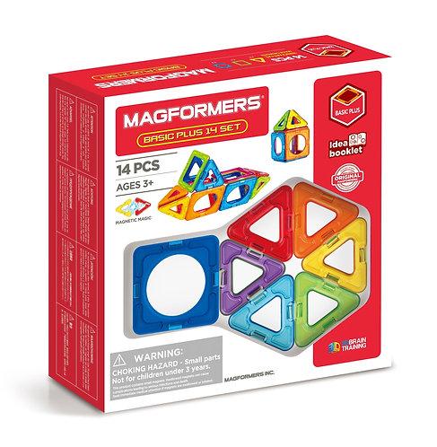 Basic Plus 14 Set | Magformers