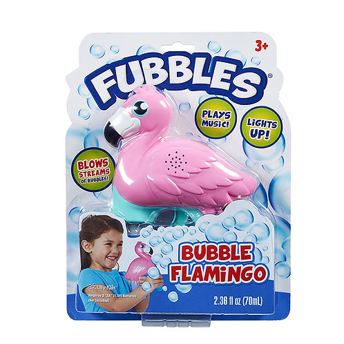 Fubbles Bubble Flamingo | Little Kids Inc.