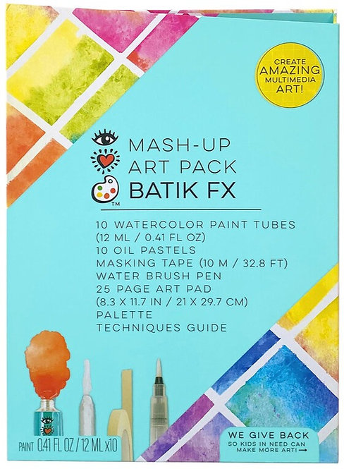 Mash Up Art Pack Batik FX | Bright Stripes