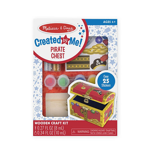 Created By Me : Pirate Chest | Melissa & Doug