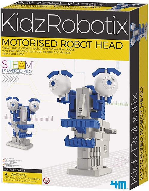 Motorized Robot Head