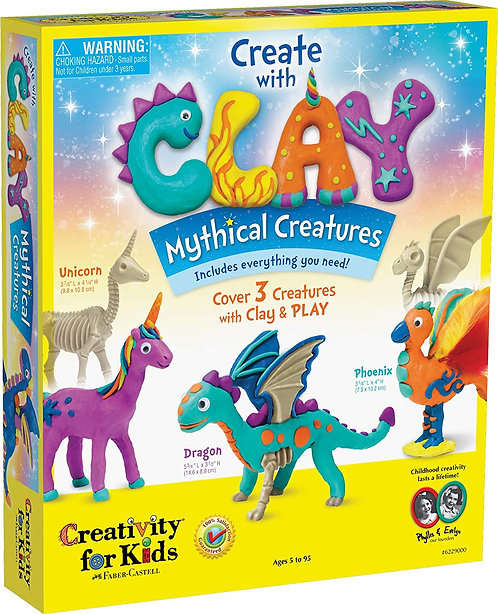 Clay Mythical Creatures by Creativity for Kids