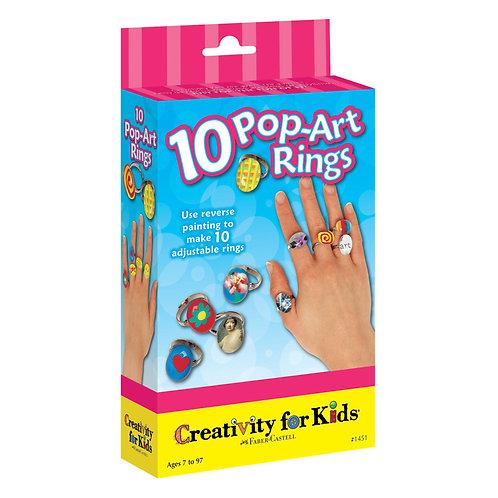 10 Pop-Art Rings | Creativity for Kids