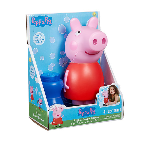 Peppa Pig Action Bubble Blower | Little Kids Inc.