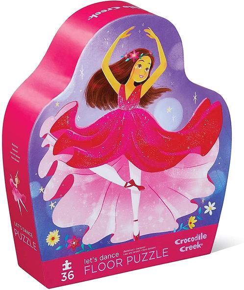 Let's Dance 36 Pc Floor Puzzle