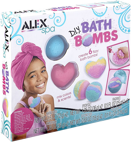 D.I.Y. Bath Bombs