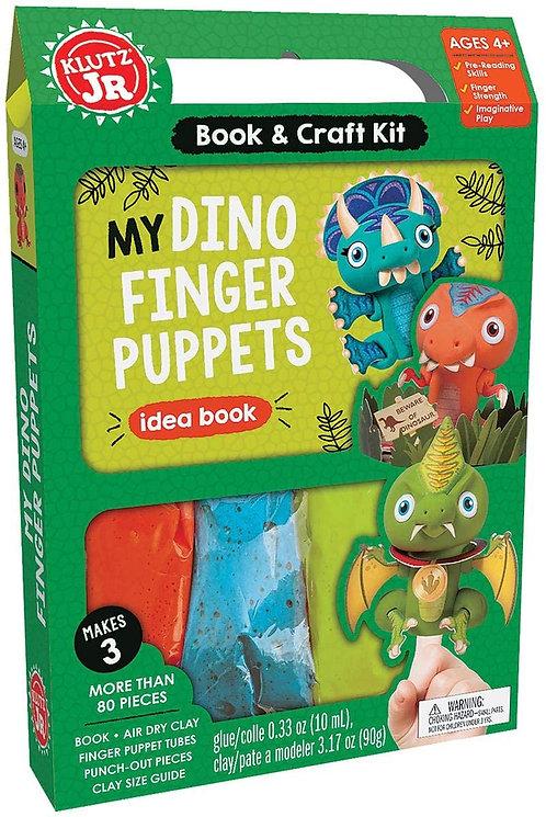 My Dino Finger Puppets | Klutz