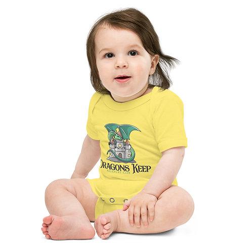 Baby short sleeve one piece (Cute Logo)