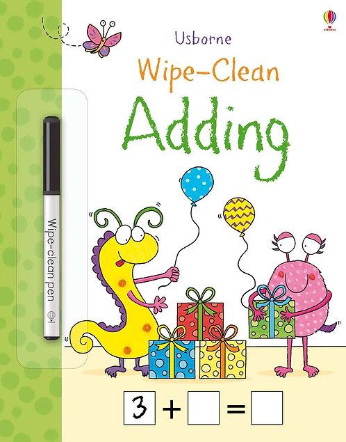 Wipe-Clean Adding | Usborne