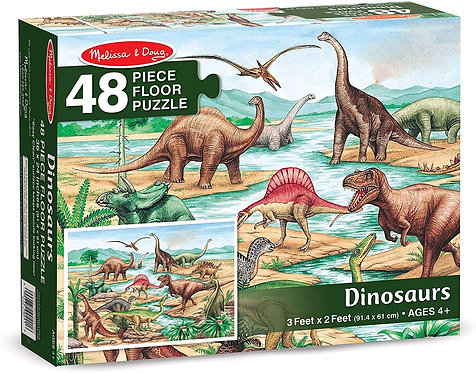 Dinosaur Floor Puzzle 48 piece