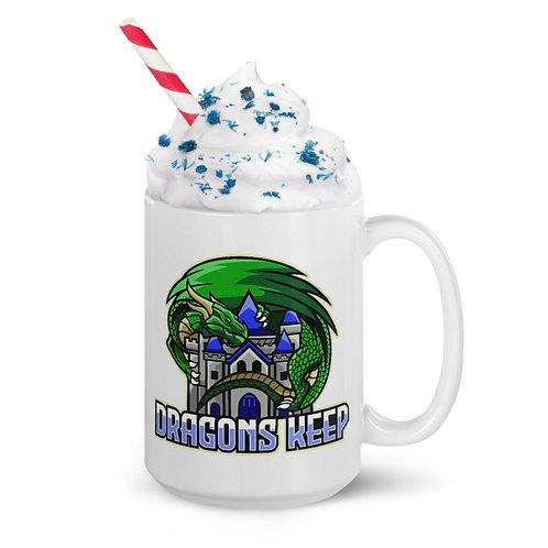 White glossy mug (Mascot Logo)