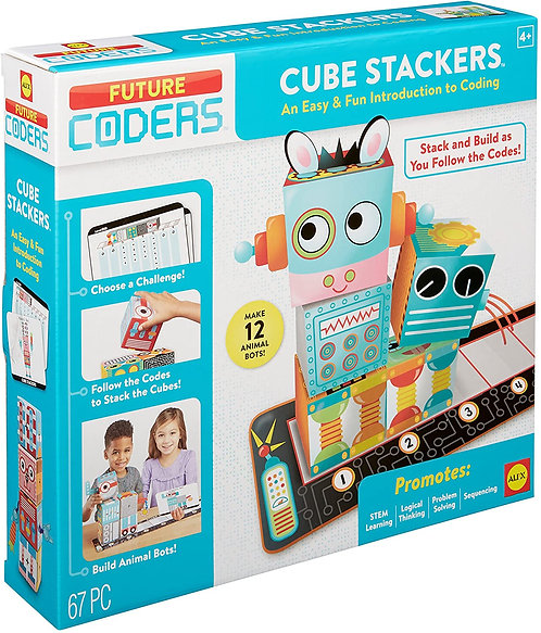 Future Coders : Cube Stackers | Alex Toys