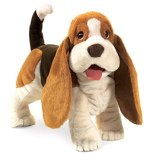 Basset Hound Puppet