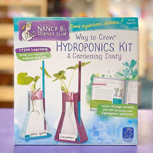 Nancy B Hydroponics Kit  & Gardening Diary