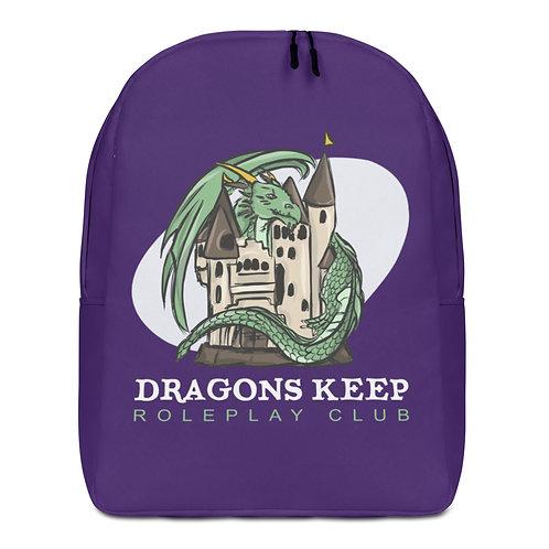 Minimalist Backpack Purple