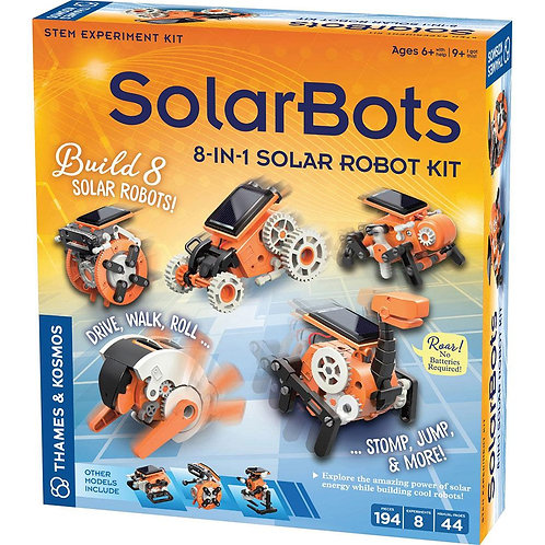 SolarBots 8 in 1 Solar Robot Kit | Thames and Kosmos
