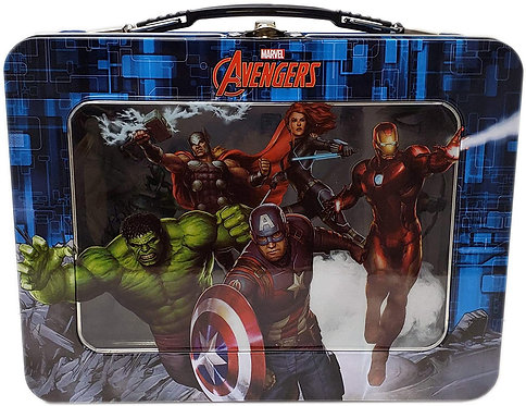 Marvel's Avengers XL Tin Lunchbox with Window