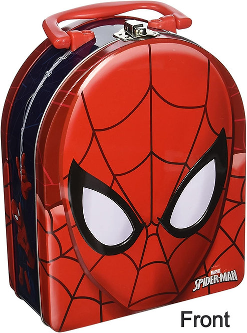 Spider Man Arch Tin Box