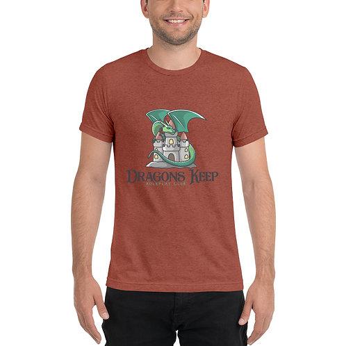Unisex Tri-Blend T-shirt (Cute Logo) - Super Soft & Tailored Fit