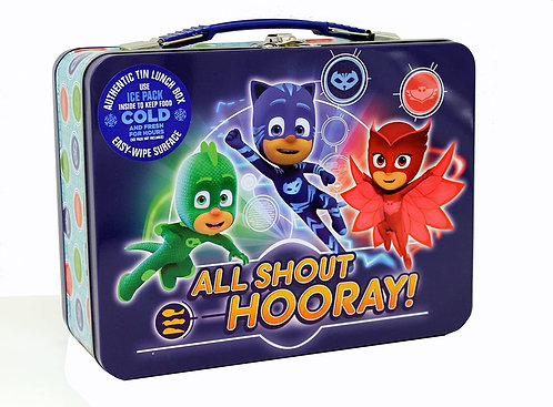 PJ Mask XL Tin Lunch Box