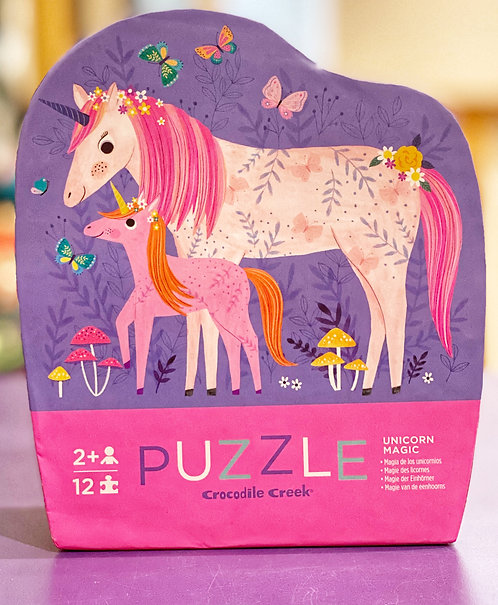 Unicorn Magic 12 Piece Puzzle | Crocodile Creek