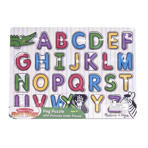 ABC Peg Puzzle