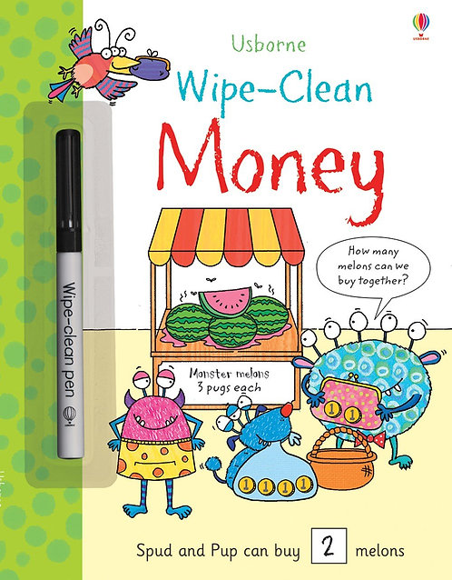Wipe - Clean Money | Usborne