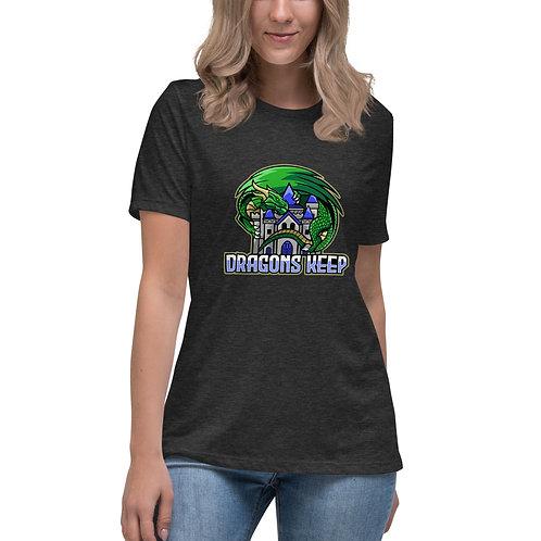 Women's Relaxed T-Shirt (Mascot Logo) - Soft & Tailored Fit