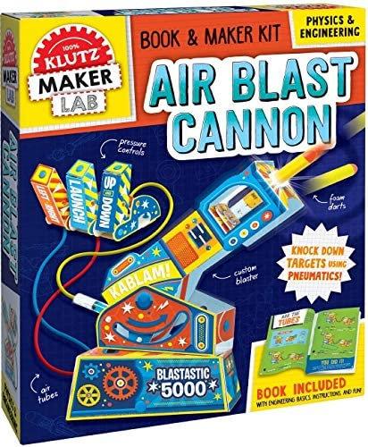 Air Blast Cannon - Klutz Maker Lab