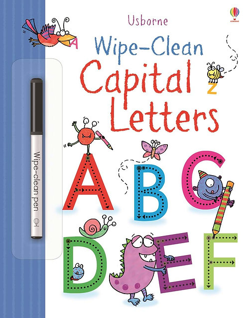 Wipe - Clean Capital Letters | Usborne