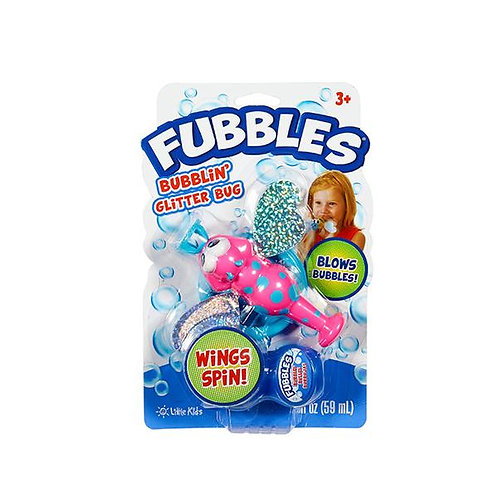 Fubbles Bubblin' Glitter Bug by Little Kids Inc.