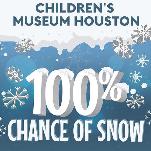 100% Chance of Snow STEAM Kit   Children's Museum Houston