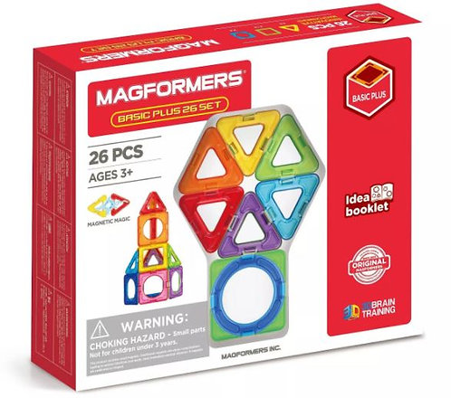 Basic Plus 26 Set | Magformers