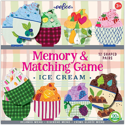 Ice Cream Memory & Matching Game | Eeboo