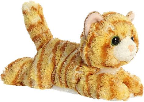"Aurora Mini Flopsie 8"" - Ginger Cat"