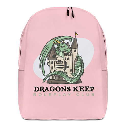 Minimalist Backpack Pink