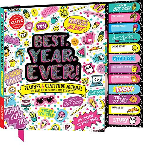 Best. Year. Ever. Planner and Gratitude Journal