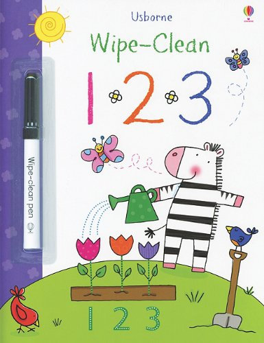 Wipe - Clean 123 | Usborne