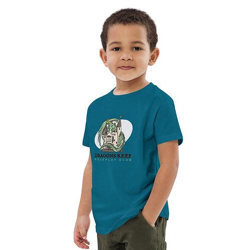 Organic cotton kids t-shirt (Black Text)