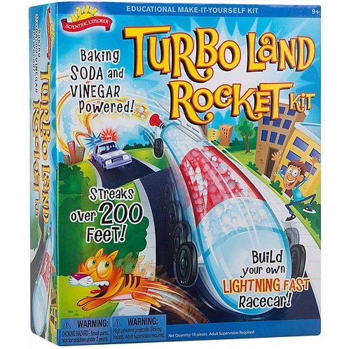 Turbo Land Rocket | Scientific Explorer