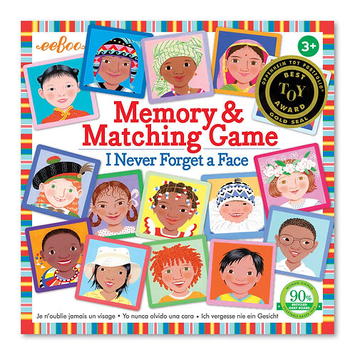 Memory & Matching Game I Never Forget a Face