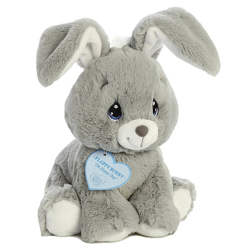 Precious Moments Floppy Bunny Grey | Aurora
