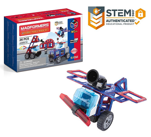 Amazing Police & Rescue Set | Magformers
