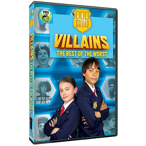 Villains The Best of the Worst - Odd Squad